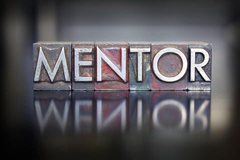 Graphic of word Mentoring